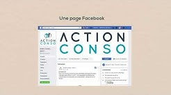 photo de la page facebook action conso